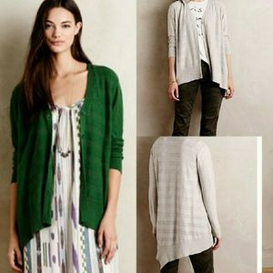 "Anthropologie Left of Center ""Valonia"" Cardigan"